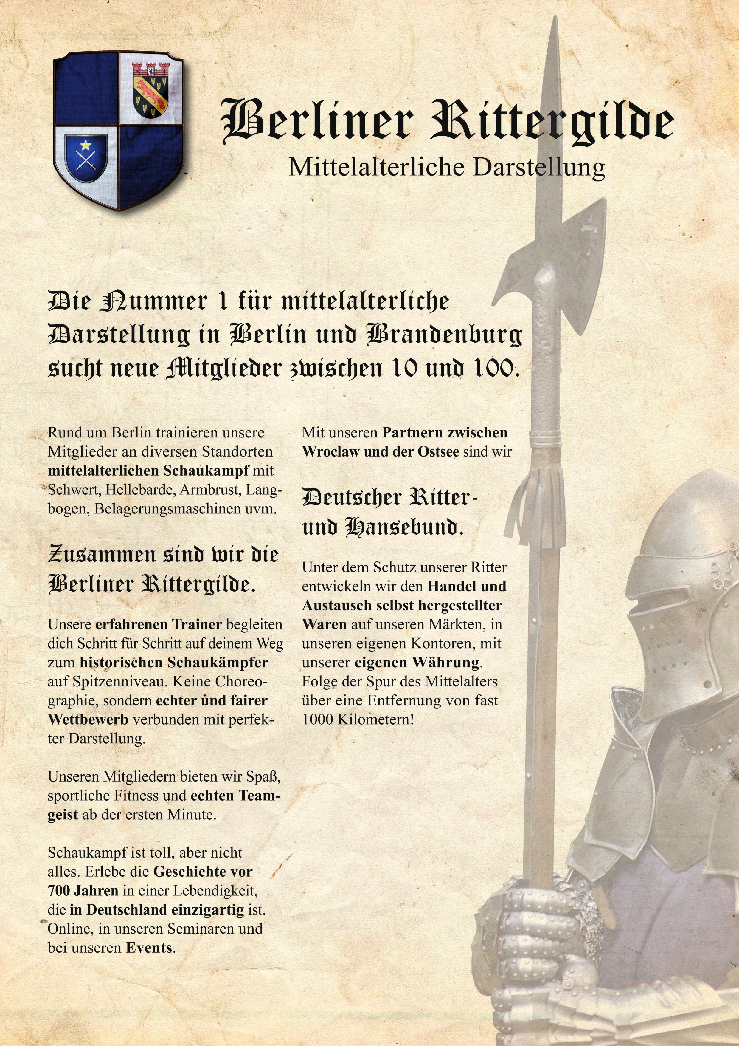 Rittergilde Info